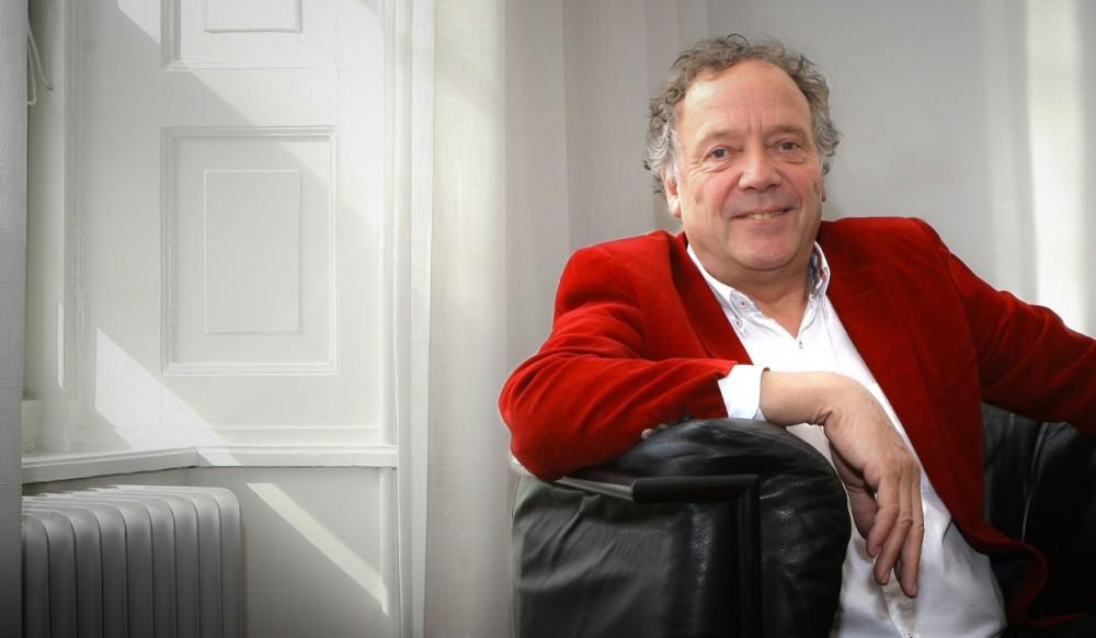 Jan Coehoorn foto in stoel kantoor